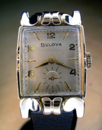 1948 Bulova fancy lugs 14k yellow gold