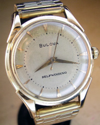 1948 Bulova self winding automatic yellow gold filled