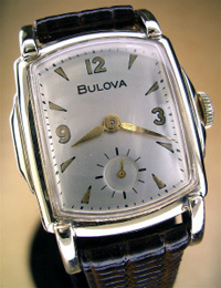 1953 Bulova wrist watch yellow gold filled
