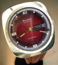 1971 Bulova 23 jewel day date automatic