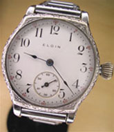 1919 Elgin wrist watch with onion crown