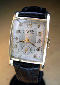 Antique Gruen Wristwatch Repair, Mechanical Gruen Wrist ...