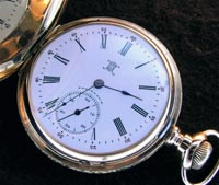 Hampden hunters pocket watch 16 size Canton Ohio made