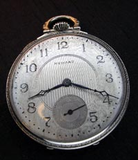 12 size Howard pocket watch