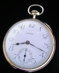 14 size Howard pocket watch