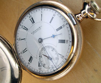 16 size Howard hunters pocket watch