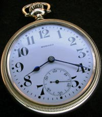 16 size Howard lever set pocket watch