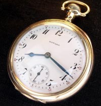 Howard railroad pocket  watch 16 size