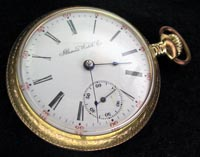 18 size Illinois open face pocket watch 189