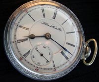 7 Jewel Illinois open face pocket watch, made in 1889