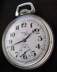 Illinois Santa Fe Special 21 jewel railroad pocket watch