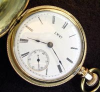 Illinois hunters pocket watch 16 size Army - Navy model 1892