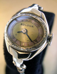 1948 Bulova ladies wrist watch