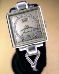 Movado ladies calendar watch 1950's