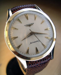 1960 Longines automatic yellow gold filled