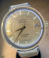 1965 Longines 5 star Admiral automatic calendar