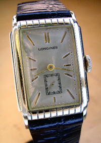 Longines 1938 manual wind yellow gold filled