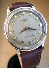 Longines automatic 1955 yellow g.f. case