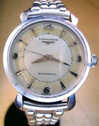 Longines automatic 1956 stainless case