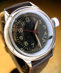 1942 Waltham 6 0 military issue watch