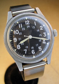 1960's Benrus government issue soldiers watch