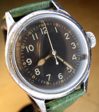 Hamilton government issue hack wrist watch