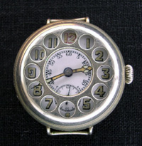 WW1 soldiers trench watch 1916 in nickel