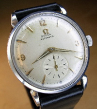 1949 Omega automatic in stainless steel