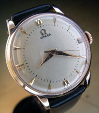 1953 Omega automatic in rose gold