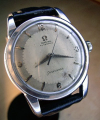 1957 Omega Seamaster auto in stainless