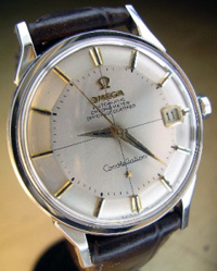 1959 Omega Constellation 24 jewel calendar