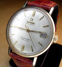 1963 Omega Seamaster De Ville in 14k yellow