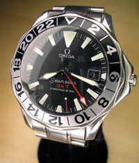 Omega Seamaster GMT 50th anniversary model